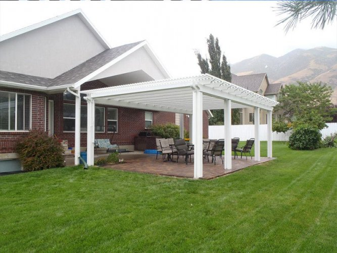 Lattice Awnings